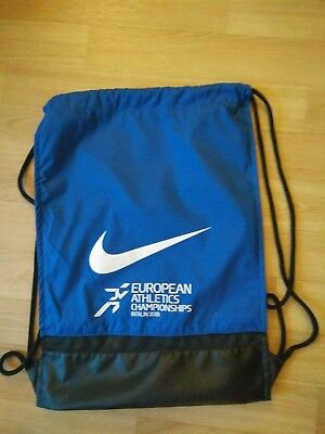 Leichtathletik EM Berlin 2018 Beutel / Turnbeutel / Gym-Bag Nike