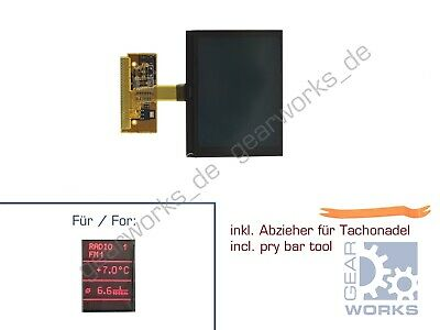 Gearworks Display LCD for Audi A2 A3/8l A4/B5 A6/C5 Instrument