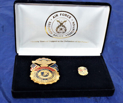 U.S. Air Force Security Police Association 20th Anniversary Commemorative Badge