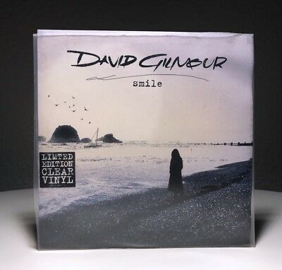 David Gilmour - Smile / 7'' Single, Limited Edition Clear Vinyl