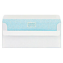 Columbian(R) Self-Seal(R) Security Envelopes, #10, 4 1/8in. x 9 1/2in., White,