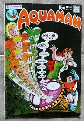 Aquaman # 55 DC 1971 F/VF