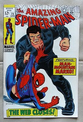 The Amazing Spider-Man # 73 Marvel 1969 Fine