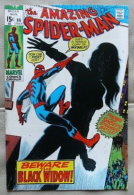 The Amazing Spider-Man # 85 Marvel 1970 Fine