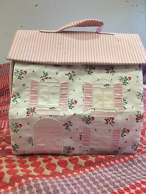 Lovely Fabric dolls house From Little White Company
