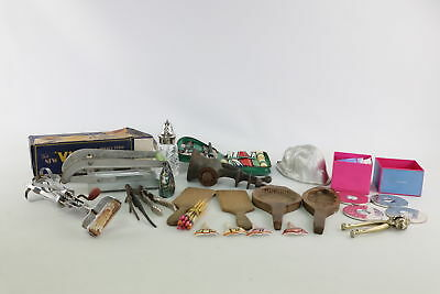 Job Lot of Vintage Mixed Kitchenalia Inc. Butter Moulds & Wedgwood Coasters etc