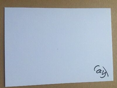 Cameron Jordan - England Rugby Player Signed 6x4 Card