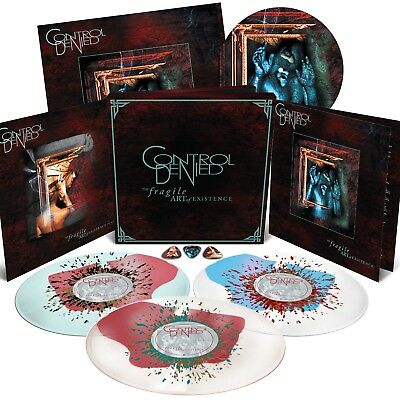 Control Denied The fragile art of existence limited deluxe box LP Vinyl Death