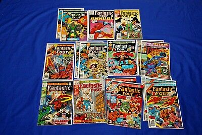 Fantastic Four King-Size  Special 16 Comic Lot #7, 8,10-17 Near Complete Run Key