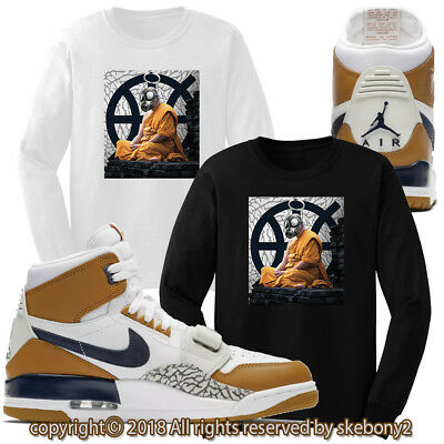 8ebcff9b5c0a2 LEGACY T-SHIRT TO Match Air Jordan Legacy 312 Purple Lakers Sneakers ...