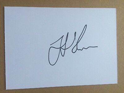 Jonah Holmes - England Rugby Player Signed 6x4 Card