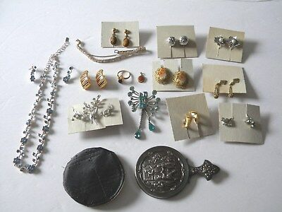 Vintage Estate Costume Jewelry Lot....Van Dell, Giovanni, W. Germany Etc.