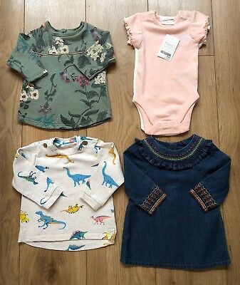 Baby Girl Autumn Bundle 3-6 Months Jumpers Next John Lewis M&S vests are new
