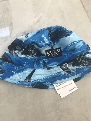Molo Blue Sun Hat Age 3-5 Years Brand New