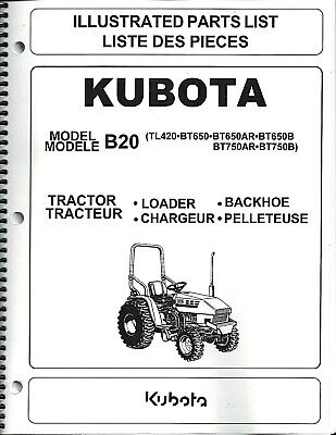 ... kubota l2900 wiring diagram, kubota KUBOTA B20+LB TRACTOR w/Loader & Backhoe Operator's Manuals (set of on ...