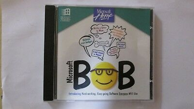 Microsoft Bob CD in great condition rare collectors item
