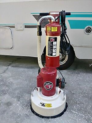 Clarke Rs16dc 16 Amp Rotary Buffer Sander With Dust Control