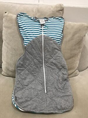 Love to Dream Swaddle Up Winter Warm size Medium Teal