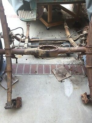 1955 chevrolet Truck Front And Rear Axle