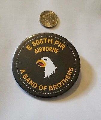 """100% Authentic """"Easy Company"""" 506 PIR Band of Brothers Reunion Pin"""