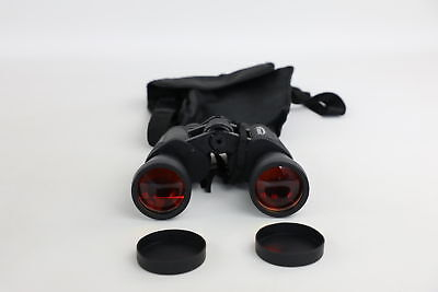 Vintage ZENNOX 8-24x50 Rubber Coated Binoculars Possibly Night Vision Working