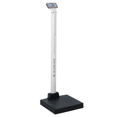 Detecto Apex Digital Clinical Scale with Mechanical Height Rod