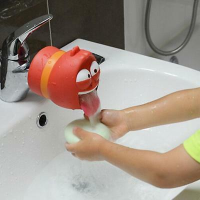 Faucet Extender Cute Cartoon Kids Toddler Washing Hand Sink Water Kid Bathroom
