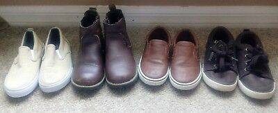 Lot Of Boy's Shoes Size 11Circo Cherokee 4 pairs