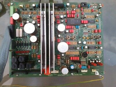 NSM ES5 Power Supply and Preamp  board 206989A / 345 for CD Jukeboxes