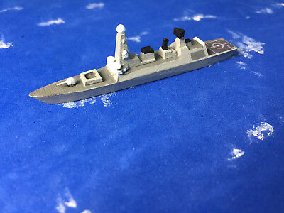 1/2400 scale of Shapway's model of the British HMS Daring DDG