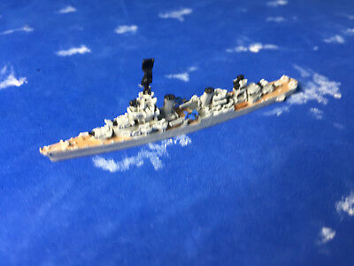 1/2400 scale of GHQ's model of the WWII USS Salt Lake City  CA