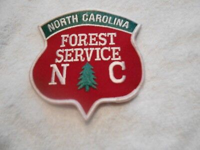 """New NC Forest Service Patch measures 4 1/2"""" x 4 1/2"""" Dept of Agriculture"""