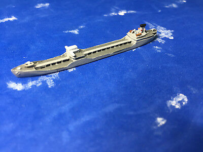 1/2400 scale of CNC's model of the WWII USS A2 oiler  WWII