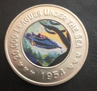 The Disney Decades Coins 1954 20,000 Leagues Under The Sea