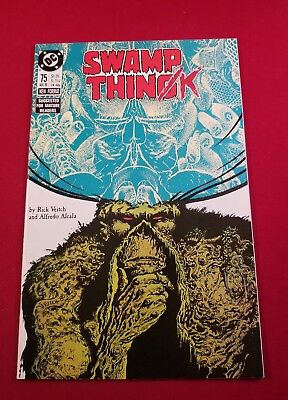 Swamp Thing Issue #75 DC NM 9.2 why pay 50.00 for a slab we have STRICT grading
