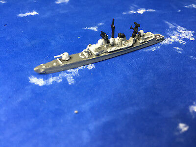 1/2400 scale of Sea Wolf's model of the cold war HMS Manchester DDG batch three
