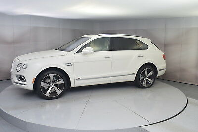 2017 Bentley Bentayga W12 First Ed. in Glacier White with 14,750 miles 2017 BENTLEY BENTAYGA FIRST ED. IN GLACIER WHITE WITH LINEN INTERIOR LOW MILES