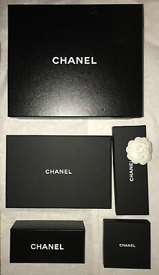 Set Of 5 Chanel Boxes