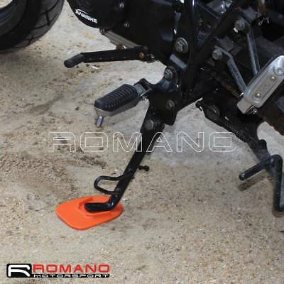 Motorcycle Kickstand Plate Pad Side Stand Extender Outdoor Parking Pad 5 Colors