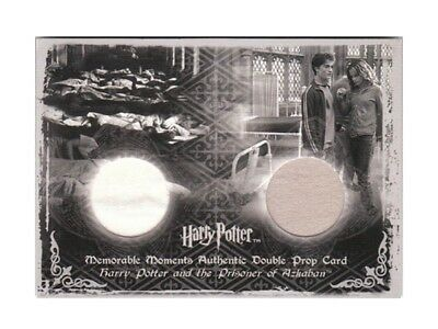 Harry Potter Double Prop Card Hospital Wing Sheets & Sleeping Bag MM 019/380 Ci1