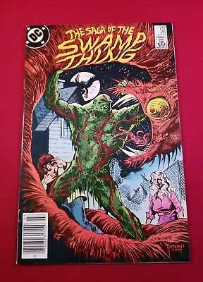 1984 The Saga of The Swamp Thing # 26 Thomas Yeates Cover - Alan Moore Vf+WHITE