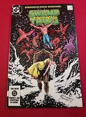 The Saga Of The Swamp Thing #31 (Vfnm) Alan Moore .50 Cent  Auction  Now