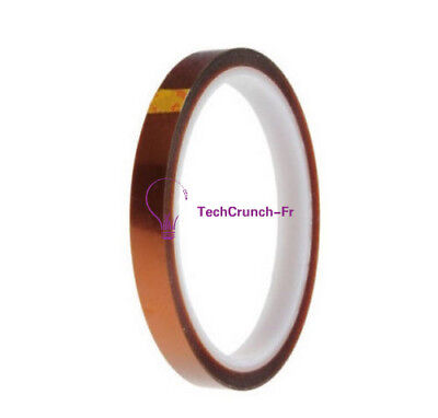 10mm 100ft Gold Kapton Tape BGA Heat Resistant High Temperature Polyimide