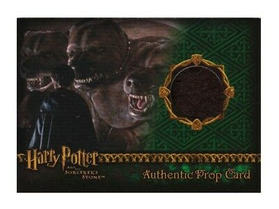 Harry Potter Prop Card Fluffy's Fur THICK Sorcerer's Stone 322/700