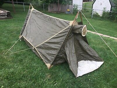 US Army WWII Mountain Tent - 1943 - Tweedie - WW2 Military