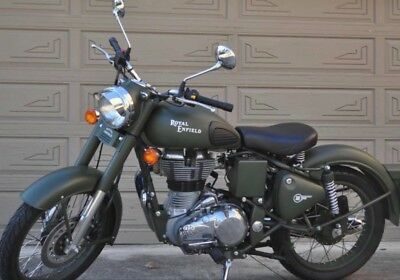 2015 Royal Enfield Classic 500  C5 Battle green