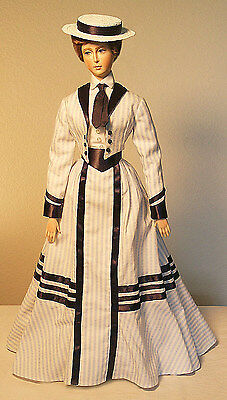 """1896 Gibson Girl Look Outfit Sewing Pattern for a 17"""" doll #96"""