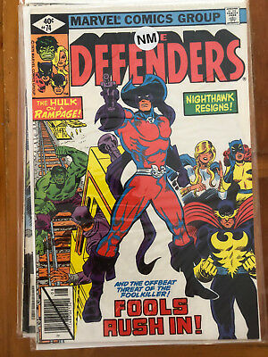 Defenders #74 & #76 and Dr. Strange #20.  Mixed lot of 8 comics.