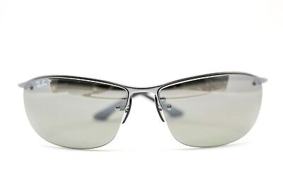 Ray Ban RB3542 029/5J Silver Polarized Sunglasses New Authentic 63