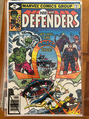 Defenders #76 and Dr. Strange #38.  Lot of 8 mixed comics